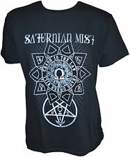 SATURNIAN MIST Chaos Is The Law Eastern European Tour 2015 - T-Shirt L 163039