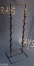 R-AYS (Black) Retail 26 Clip Double Round Wire Counter Chip/Snack Product Rack