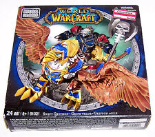 Mega Bloks World of Warcraft Swift Gryphon and Graven (Alliance Wargen Death Kni