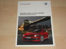 59108) VW Scirocco Zubehör Prospekt 09/2008