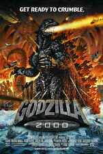 Godzilla 2000 Poster 02 A2 Box Canvas Print