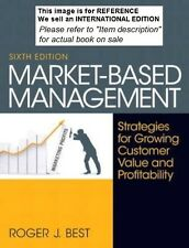 Market-Based Management by Roger Best 2012(Int' Ed Paperback)6ED