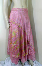 Indian Wraparound Skirt Sarong Gypsy Floral One Size Beach Wear Boho