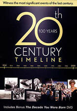20th Century Timeline/The Decade You Were Born (DVD, 2014, 6-Disc Set)