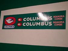 "COLUMBUS ""Squadra Corse"" decal set. Fresh artwork from originals. None better!"