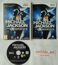MICHAEL JACKSON The EXPERIENCE-Wii Game+U-Dance 2 26 Hits=Bad+Thriller=NEAR MINT