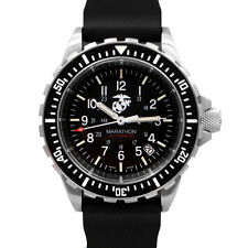 Marathon USMC GSAR US Government Military Dive Watch New, 2 yr. warranty Low SN!