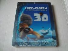 ICE AGE 4 CONTINENTAL DRIFT  3D  Blu-Ray SteelBook lenticular magnet cover NEW