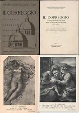 IL CORREGGIO SGUARDO GENERALE ALLE OPERE PER IL IV CENT DELLA MORTE 1534-1934