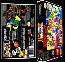 Looney Tunes B-Ball - SNES Reproduction Art Case/Box No Game.