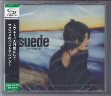 SUEDE The Best Of  2 cd JAPAN SHM cd set with OBI  TECI-23697-8  sealed NEW