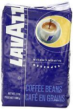 Lavazza Super Crema Espresso Whole Bean Coffee, 2.2-Pound Bag, New