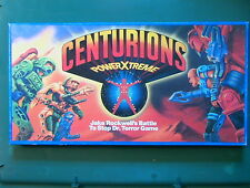 Centurions VINTAGE 1986 Jake Rockwell Battle to Stop Dr. Terror Game Kenner 100%