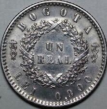 Colombia. 1 Real 1852. Nueva Granada. Rare.
