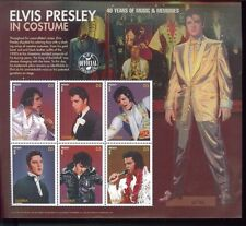 ELVIS PRESLEY In Costume #1822 Commemorative Sheet of 6 MNH - Gambia E58
