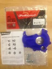 YAMAHA YZF 250  2014-2017 IGNITION COVER PROTECTOR GUARD BLUE