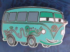 Disney Hippie Fillmore VW Van Volkswagon Pixar Cars Kitsch Booster Trading Pin