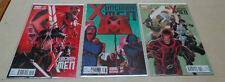 UNCANNY X-FORCE #1, #2, #3 - all 1:50 variant - Dell'Otto, Irving, Noto NM comic