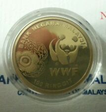 Willie: 2011 Malaysia 50 Years Anniversary WWF Gold Proof with cert and box