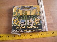 Official Films Sportsbeams 8 Monarchs of the Ring 8mm film 1940's movie Boxing
