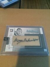 07/08 ITG SUPERLATIVE MILT SCHMIDT AUTOTHREADS #/9