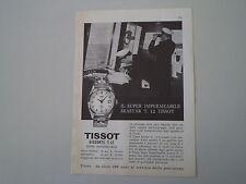 advertising Pubblicità 1961 TISSOT VISODATE T12