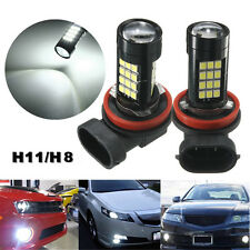 2X H11/H8 42 SMD LED Bombilla Samsung 2835 Car Canbus Error Free Fog Light 6500K