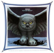 RUSH AUFKLEBER / STICKER # 13 FLY BY NIGHT - PVC - WETTERFEST
