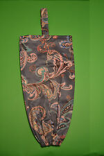 Handmade Carrier Bag Holder. Fabric. One of a kind. Unique Gift. Free Post