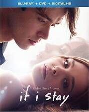 If I Stay (Blu-ray Disc case and artwork, No DVD, 2014) no digital