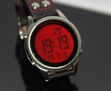 Emporio Armani Watch AR0537 Red Digital Movement 48 mm Diameter
