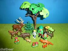 Schöner Wald mit v. Tieren Figuren Hirsch Fuchs zu 6811 4207 Playmobil 016