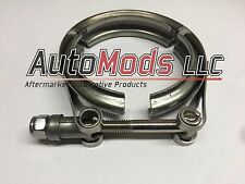 """3"""" stainless steel V-band clamp turbine outlet pte comp turbonetics turbo out"""