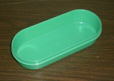 Tupperware #1375 OVAL STORAGE CONTAINER Only - Grater/Shredder - Jadite Green