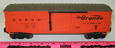 Lionel 15000 D&RGW waffle side boxcar