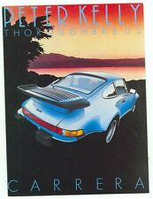 Post Card-  Porche Carrera, Thoroughbreds by Peter Kelly (NEW (autoC#109*3