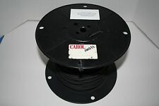 1000FT CAROL 18 GAUGE HIGH VOLTAGE LEAD WIRE BLK SILICONE 65 STRANDS C1321.21.01