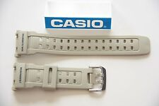CASIO New Original Watch Band G-Shock Mudman G-9000 Grey Rubber Strap G-9000-8