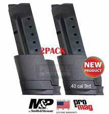 2PACK Smith&Wesson S&W M&P Shield .40cal Extended 9 Round Magazine ProMag SMI31