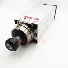 7.5KW 380V Square Spindle Motor 300Hz ER32 12.7mm 15.5A 18000rpm Woodworking