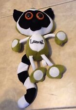 "Linking Lemur LAMONT 14"" Green Plush Stuffed Animal in great shape NEN"
