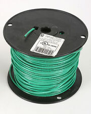 12 Green STRANDED COPPER WIRE 600v 15 Mils Insulation 400 FT - MTW THWN THHN AWN