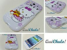 FUNDA CARCASA TPU PARA SAMSUNG GALAXY S3 I9300 HELLO KITTY