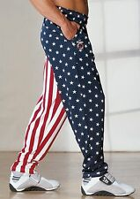 OTOMIX American Flag Baggy Workout Pant - XLARGE (Stars and Stripes)