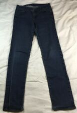 Calvin Klein women's dark blue denim jeans, size 10X32