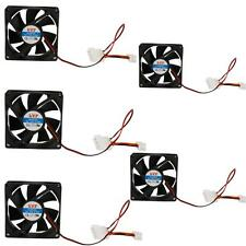 Lot 5PCS New 80mm IDE Chassis Fan Cooling for Computer PC Host 4 Pins