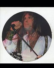 "IRON MAIDEN - 12"" Interview PICTURE DISC BRUE DICKINSON"