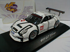 "Spark werbemodell # Porsche 911 gt3 Cup Intelligent performance in ""blanco"" 1:43"