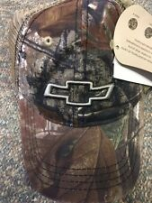 Realtree AP, GM Licensed, Chevrolet Bowtie Camo Baseball Cap with Snapback Close
