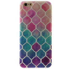 Shockproof Patterned Soft TPU Back Cover Case Skin For iPhone 6 6s Plus 5s SE 4s
